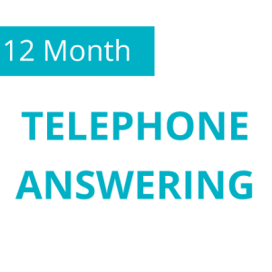 12 Month Telephone Answering