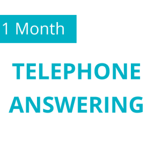1 Month Telephone Answering