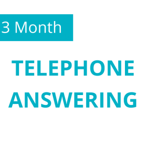 3 Month Telephone Answering