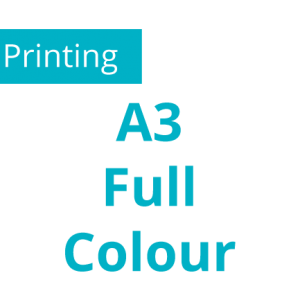 A3 - Full Colour