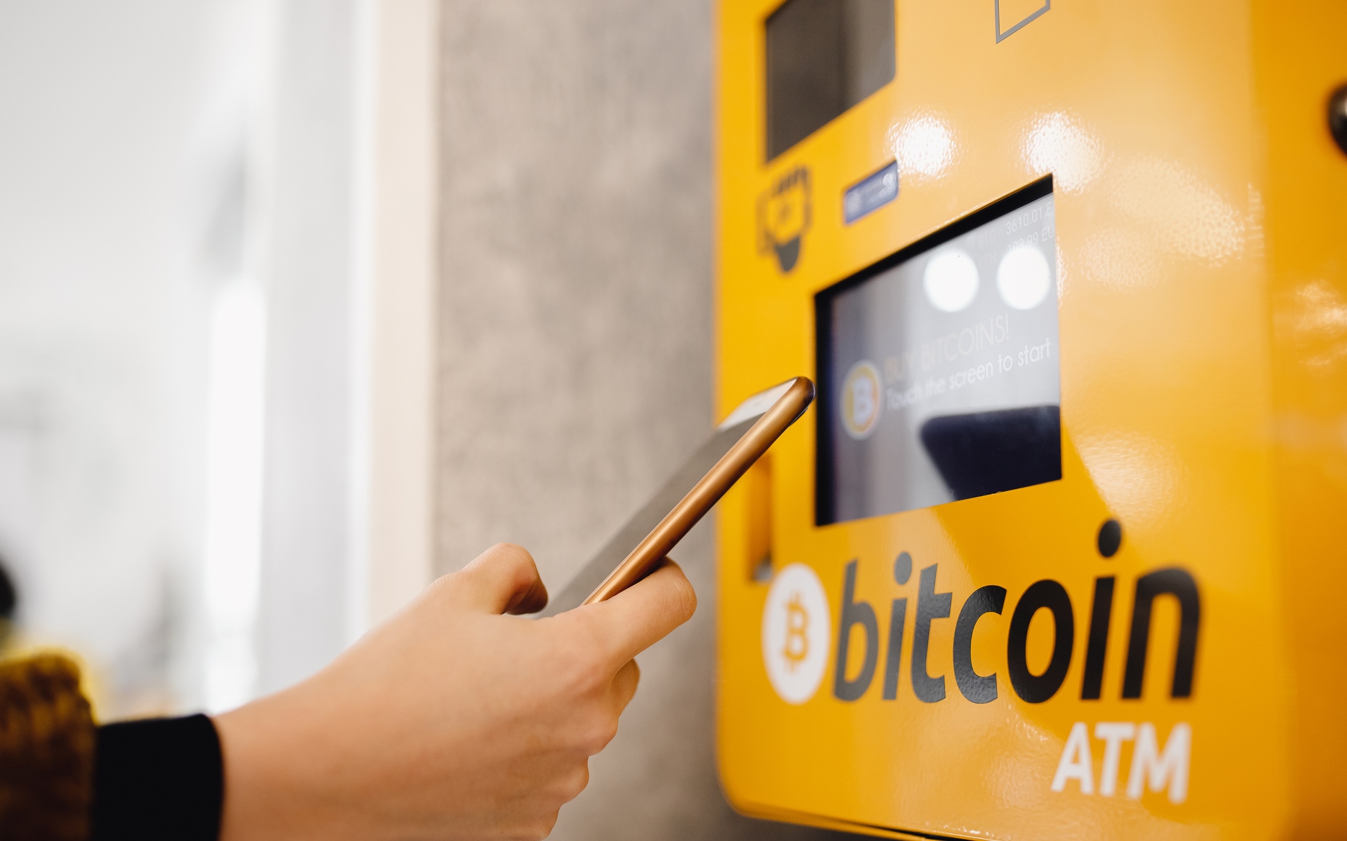 Bitcoin ATM Machine in London, New North Road